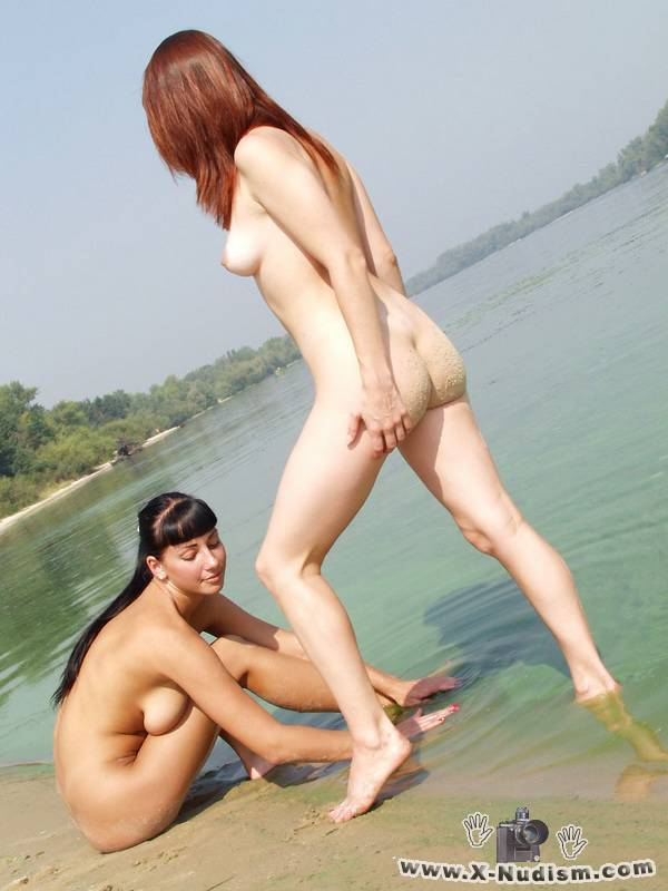 Two nudist girls
