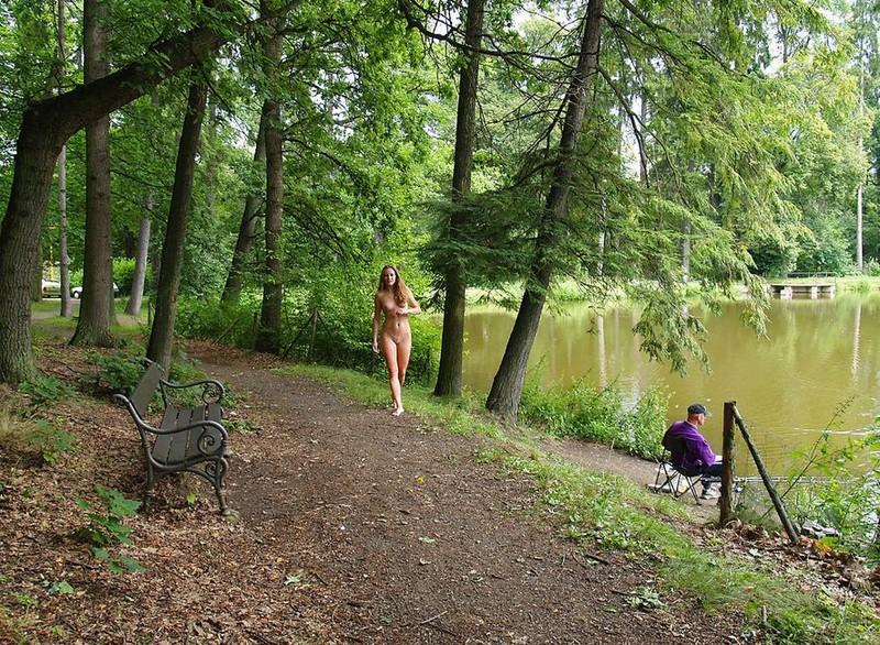 Walk to the lake