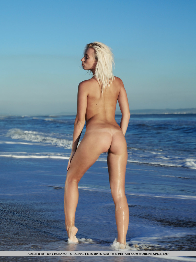 Adele  Naked On The Beach - Redbust-3497
