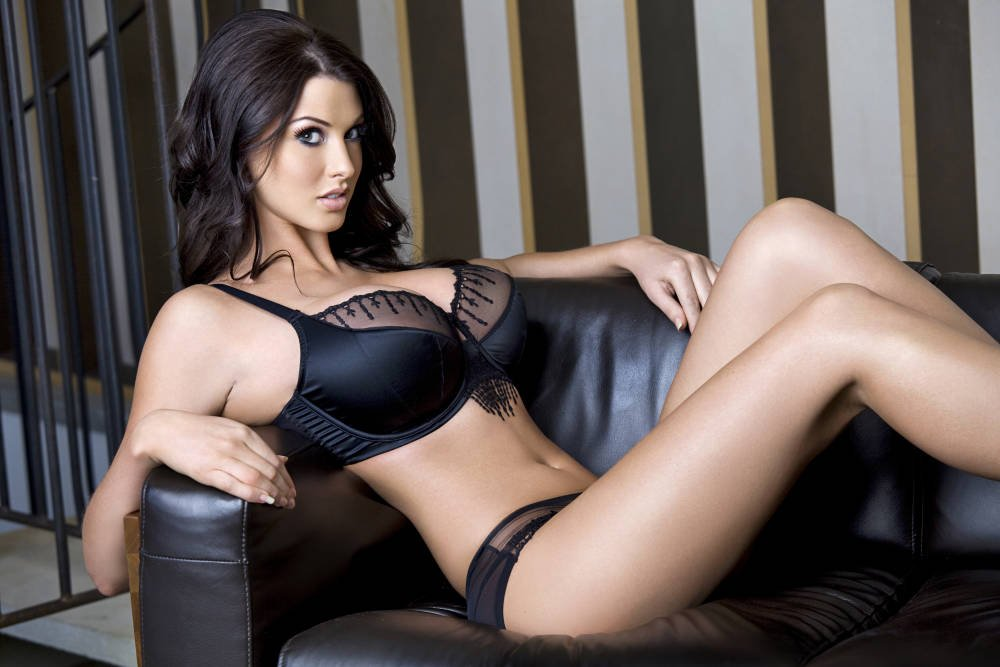 About sexy brunettes in lingerie tenis