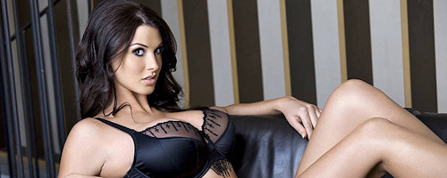 Busty brunette Alice Goodwin
