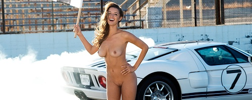 Alyssa Arce on the racetrack vol.2