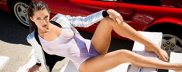 Alyssa Arce on the racetrack vol.3
