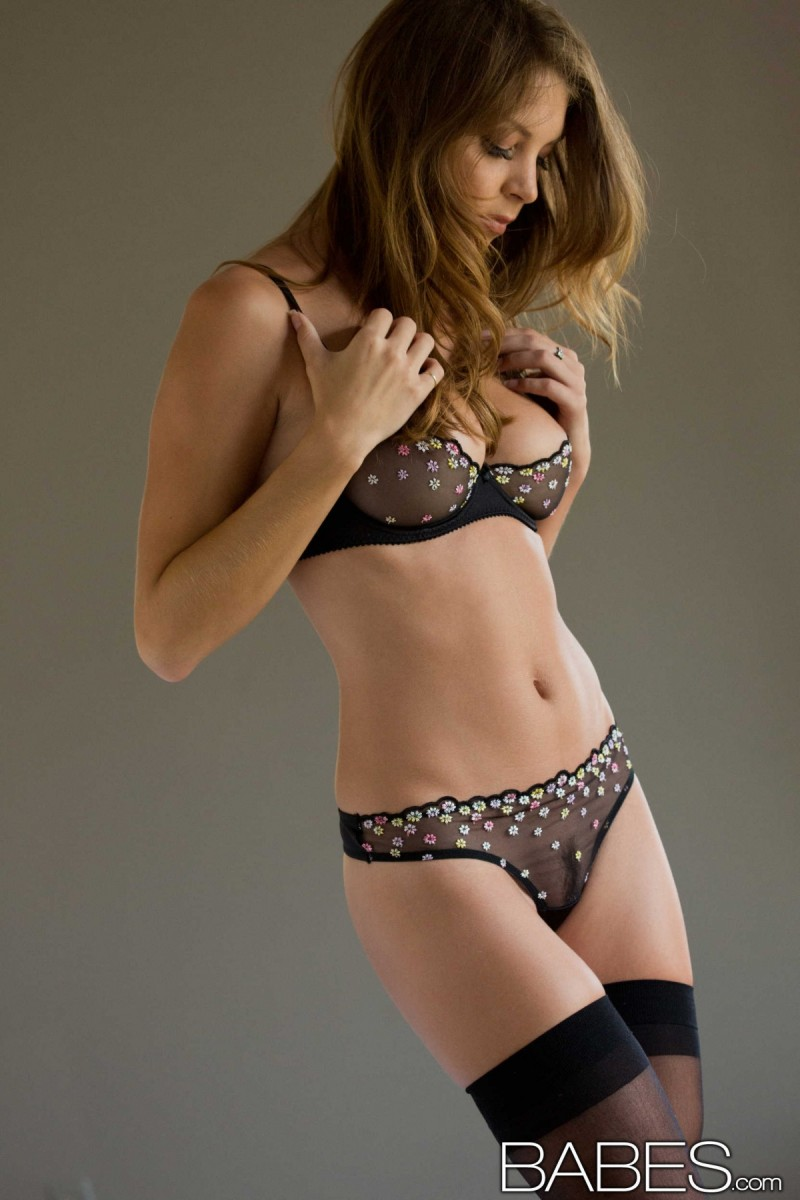 Amber Sym - Stockings  Lingerie-9825