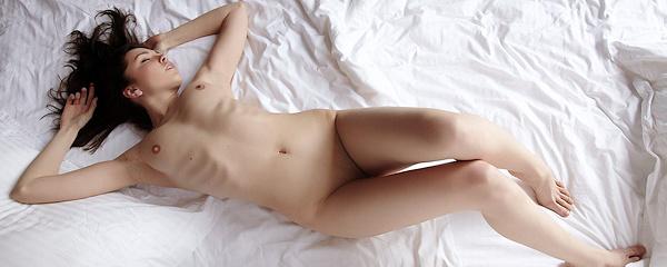 Anita in bedroom