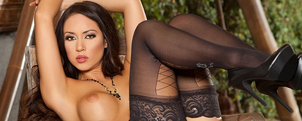 Anita Serena in stockings