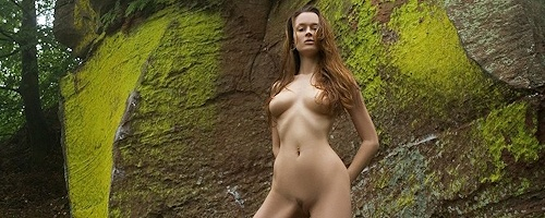 Anna Leah – Rocks in forest