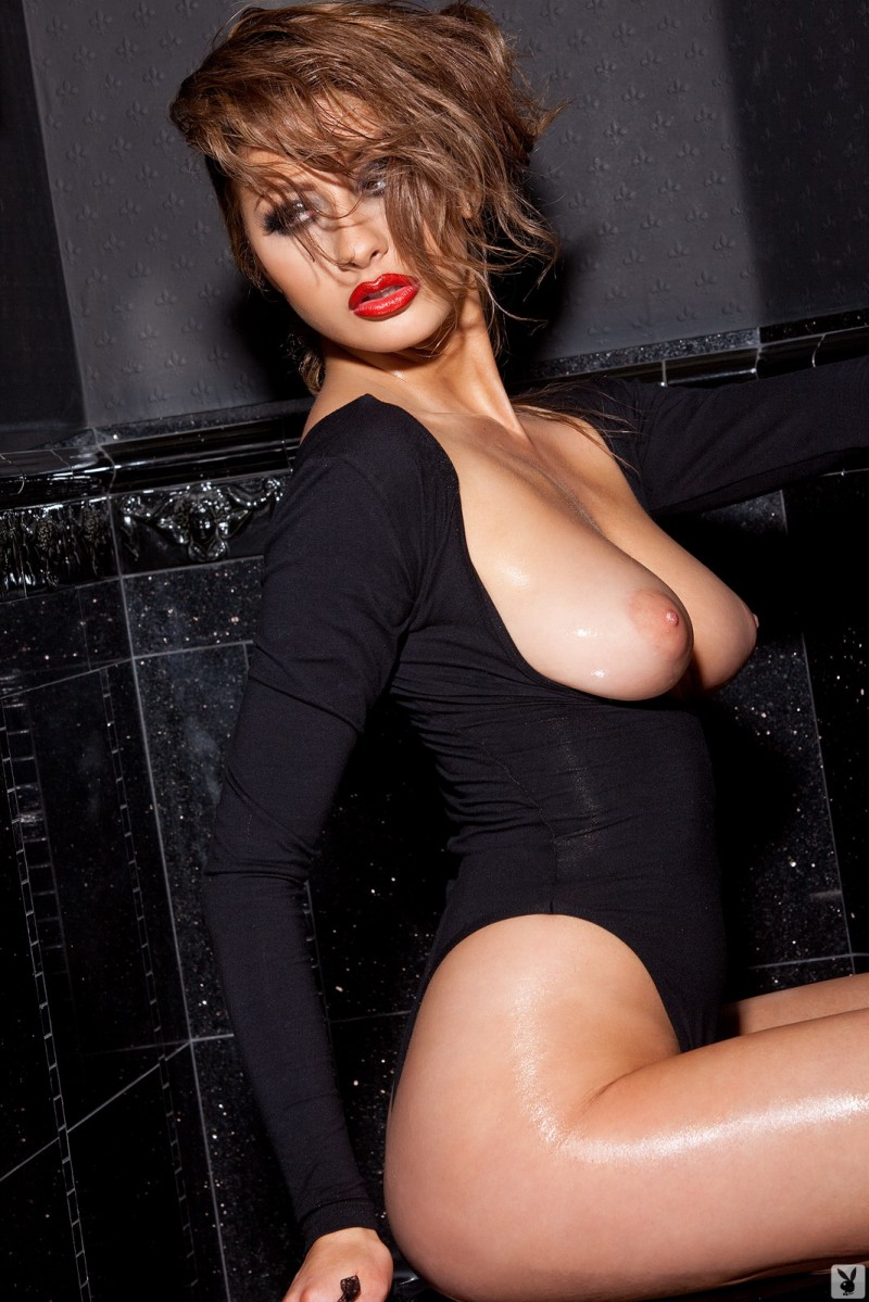 Anna Lynn Porn anna lynn – black bodysuit - redbust