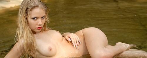 Aria in mountain brook