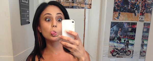 Ariana Marie – Mirror selfie