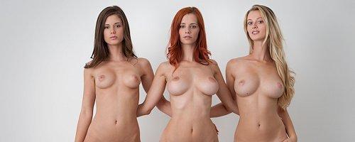 Ariel, Caprice & Carisha