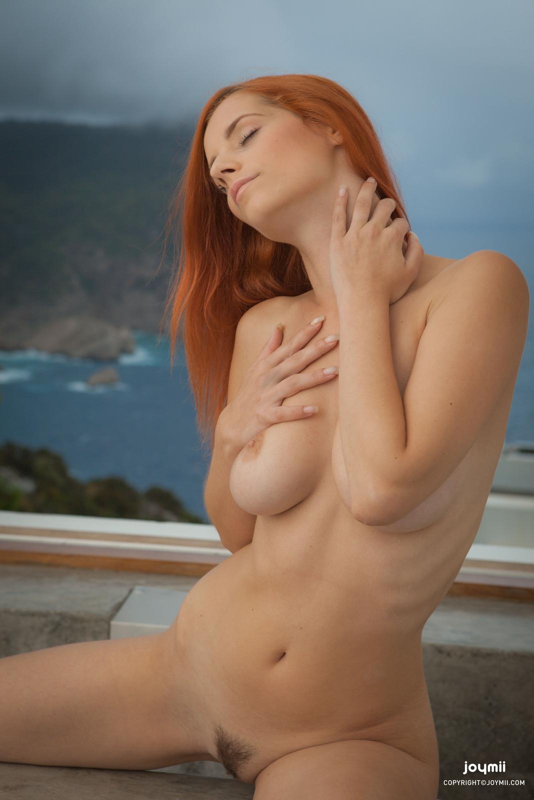ariel-redhead-bathroom-naked-boobs-joymii-07