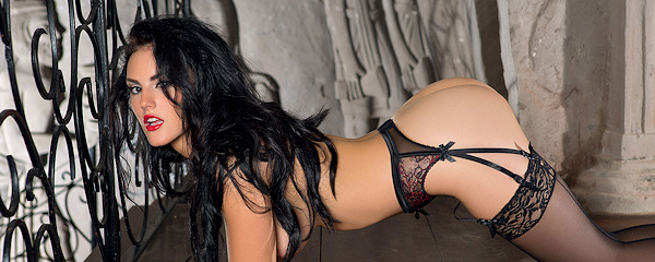 Ashleigh Hannah – Stockings & garters