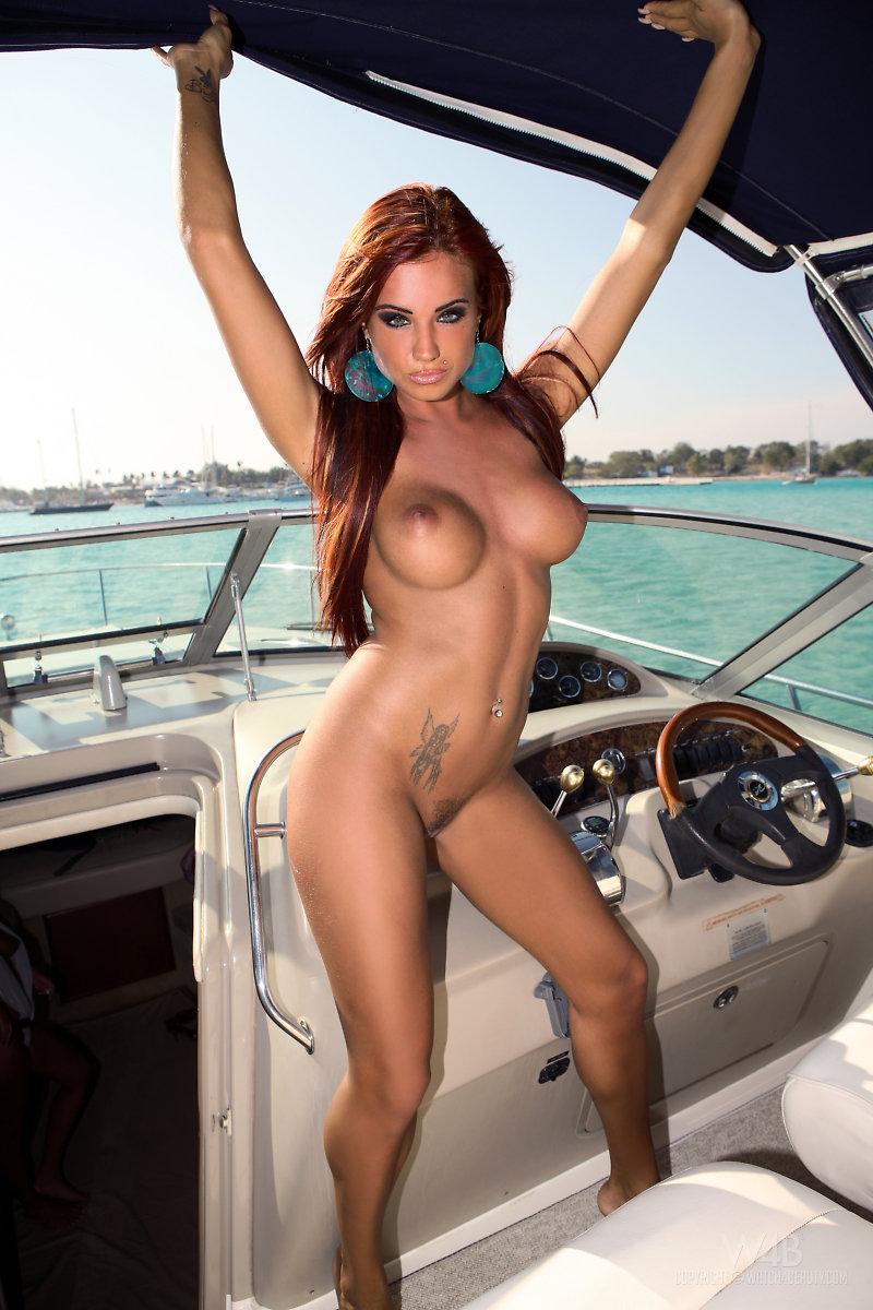 Ashley Bulgari Nude Porn ashley bulgari – boat trip - redbust