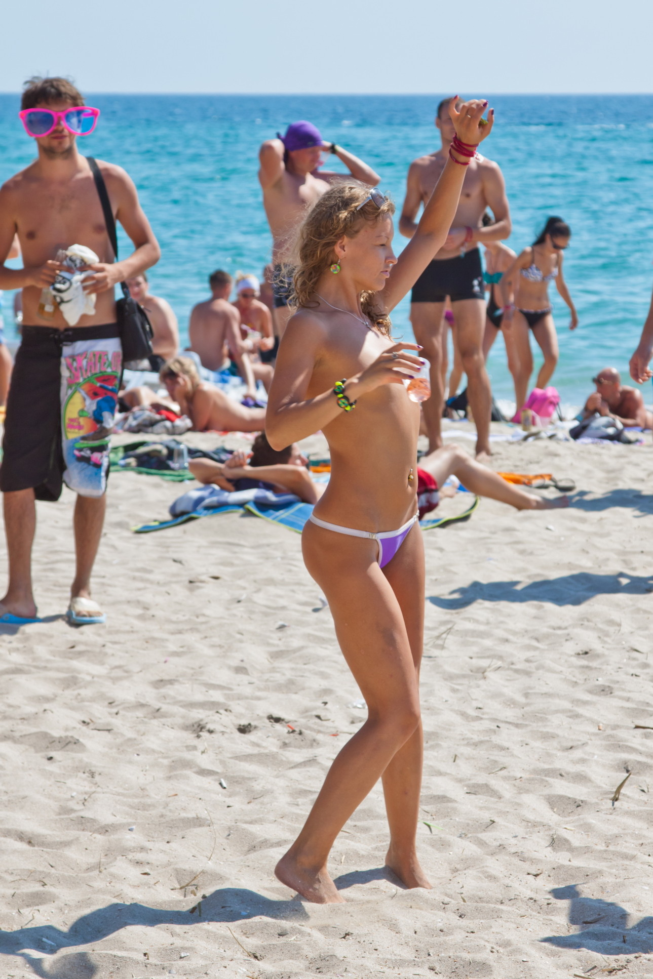 Nude Beach for You  high quality candid photo and video