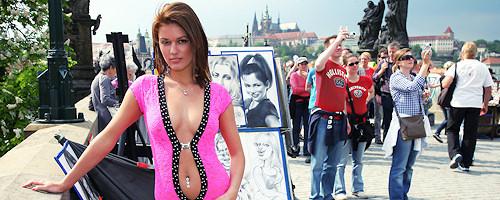 Becca nude in Prague