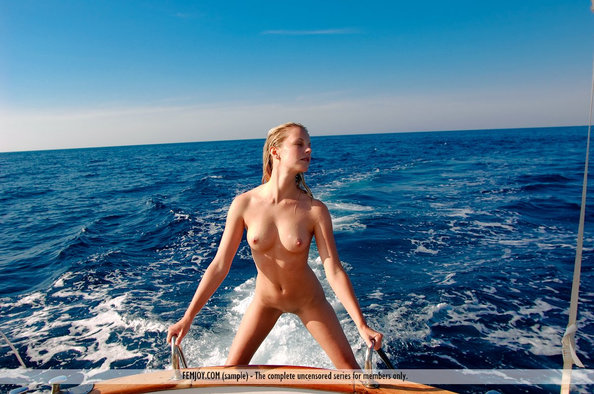 Alexander naked tan girl on boat sucking black and