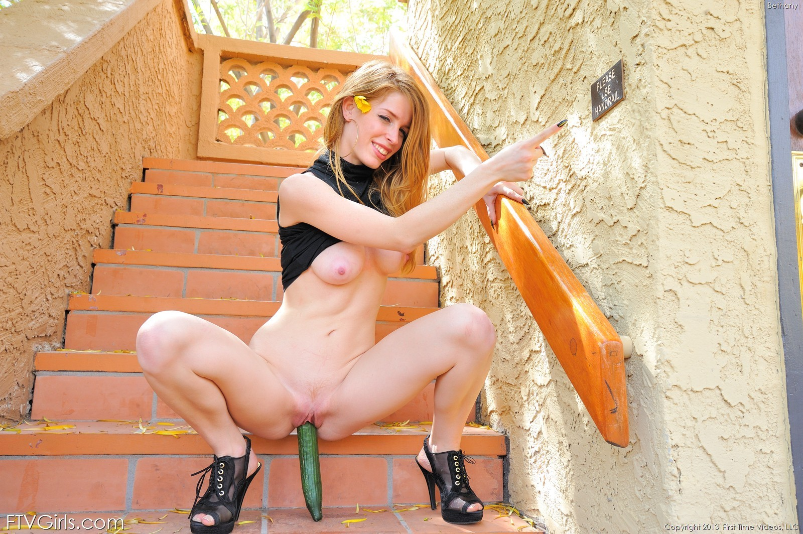 Bethanie skye outdoor black dress naked ftvgirls 22 RedBust
