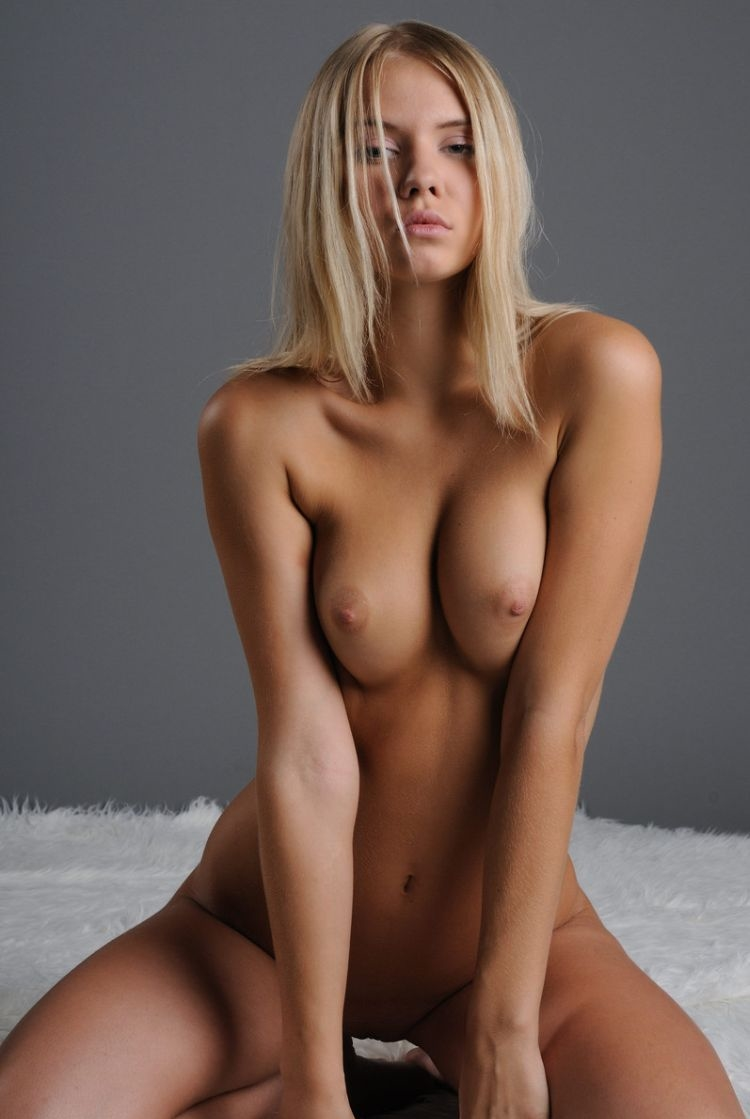 Topless blondes