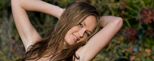 Caesaria – Naked outdoors
