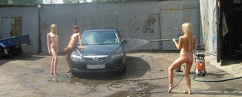 Carwash in St. Petersburg