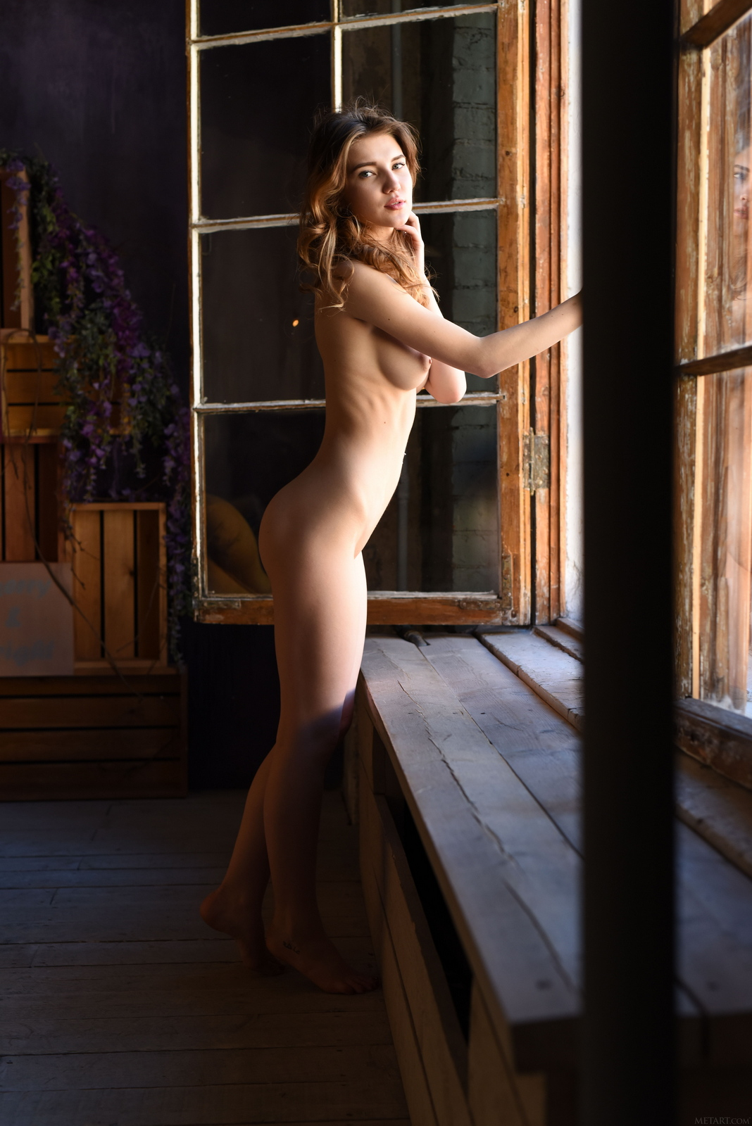 caramel-yellow-armchair-young-nude-pussy-met-art-36
