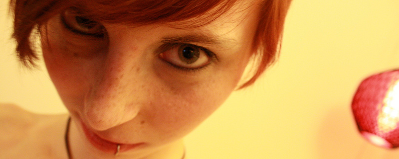 Cassie – Cute redhead with freckles
