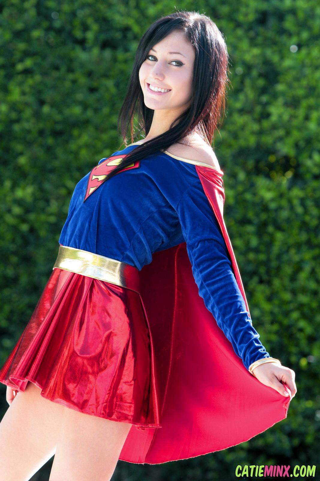 catie-minx-supergirl-costiume-poolside-young-brunette-nude-09