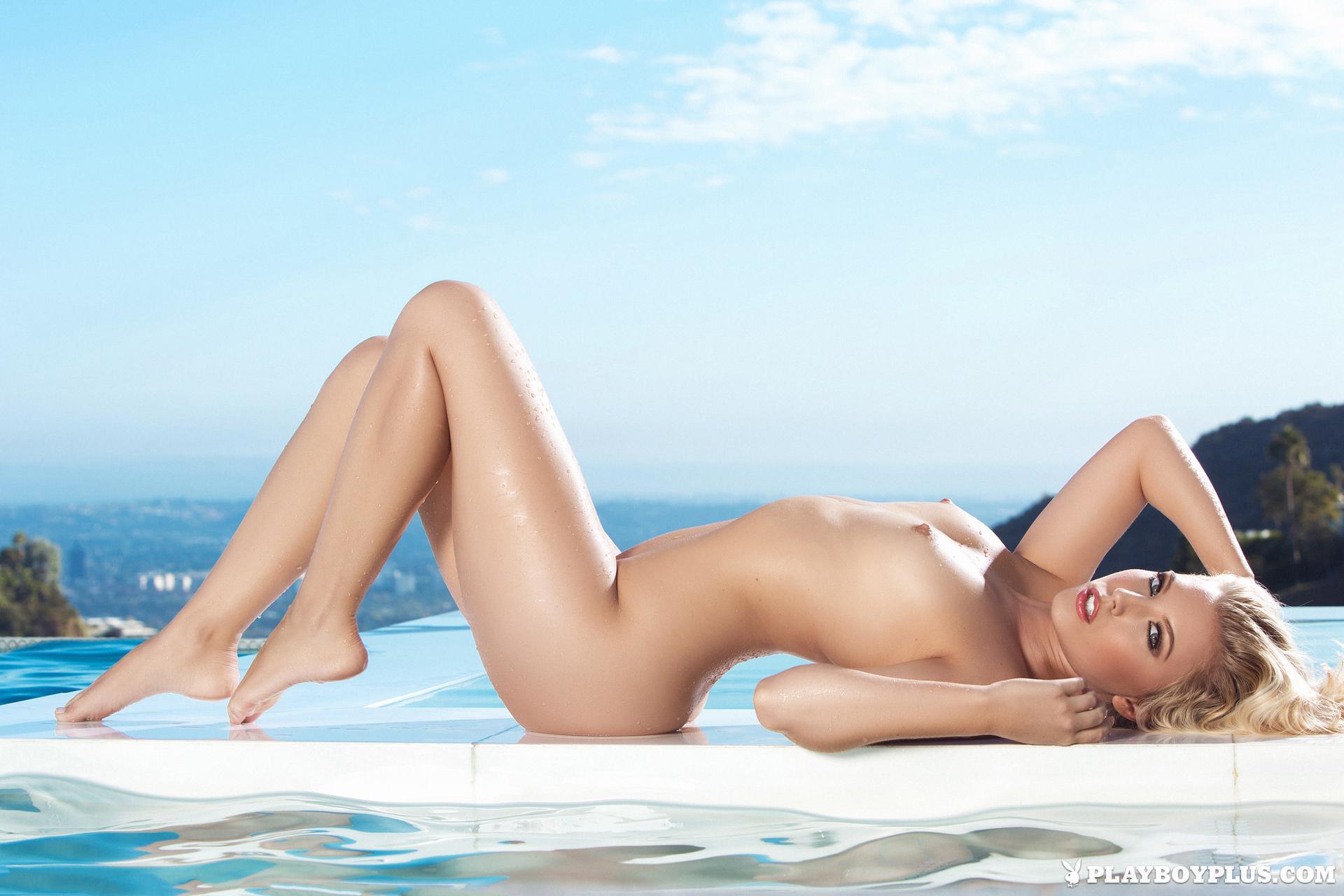 chanel-elle-nude-pool-bikini-playboy-21