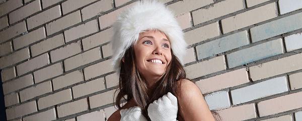 Chantelle – Fur hat & leg warmers