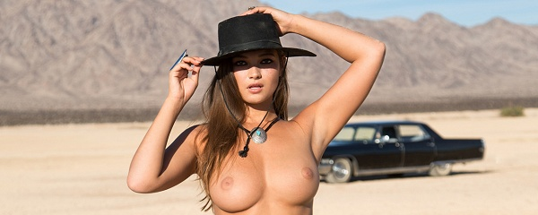 Chelsie Aryn in the desert