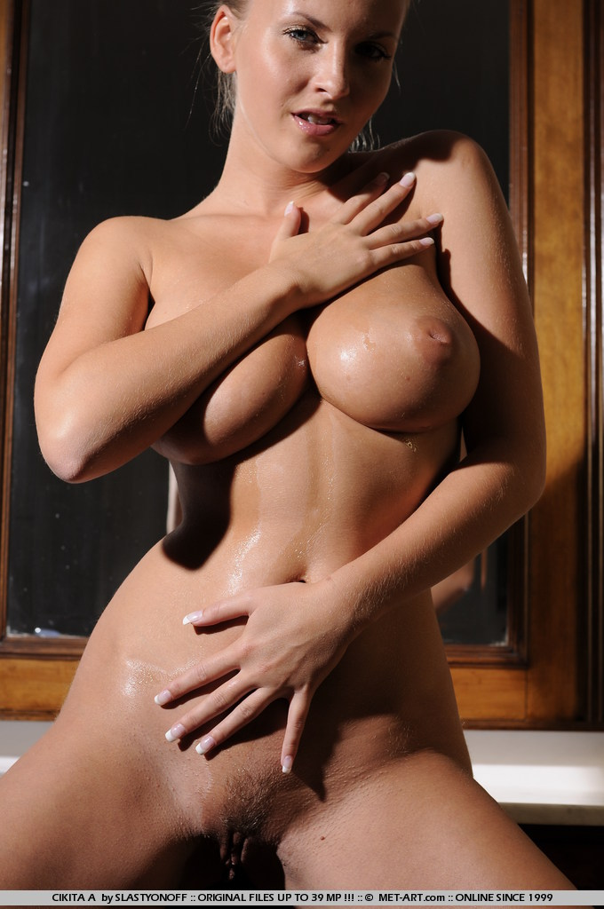 chikita oiled boobs redbust