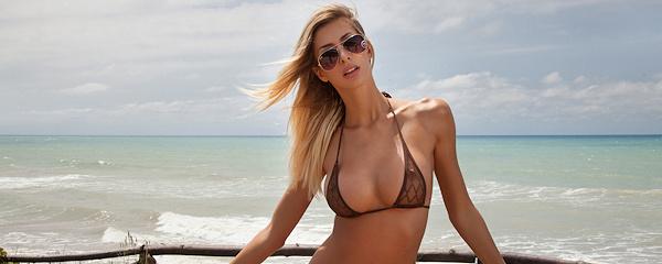Claudia in bikini