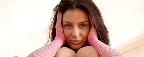 Cofi Milan – Pink fishnet