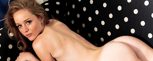 Cora Banks – Young freckled redhead