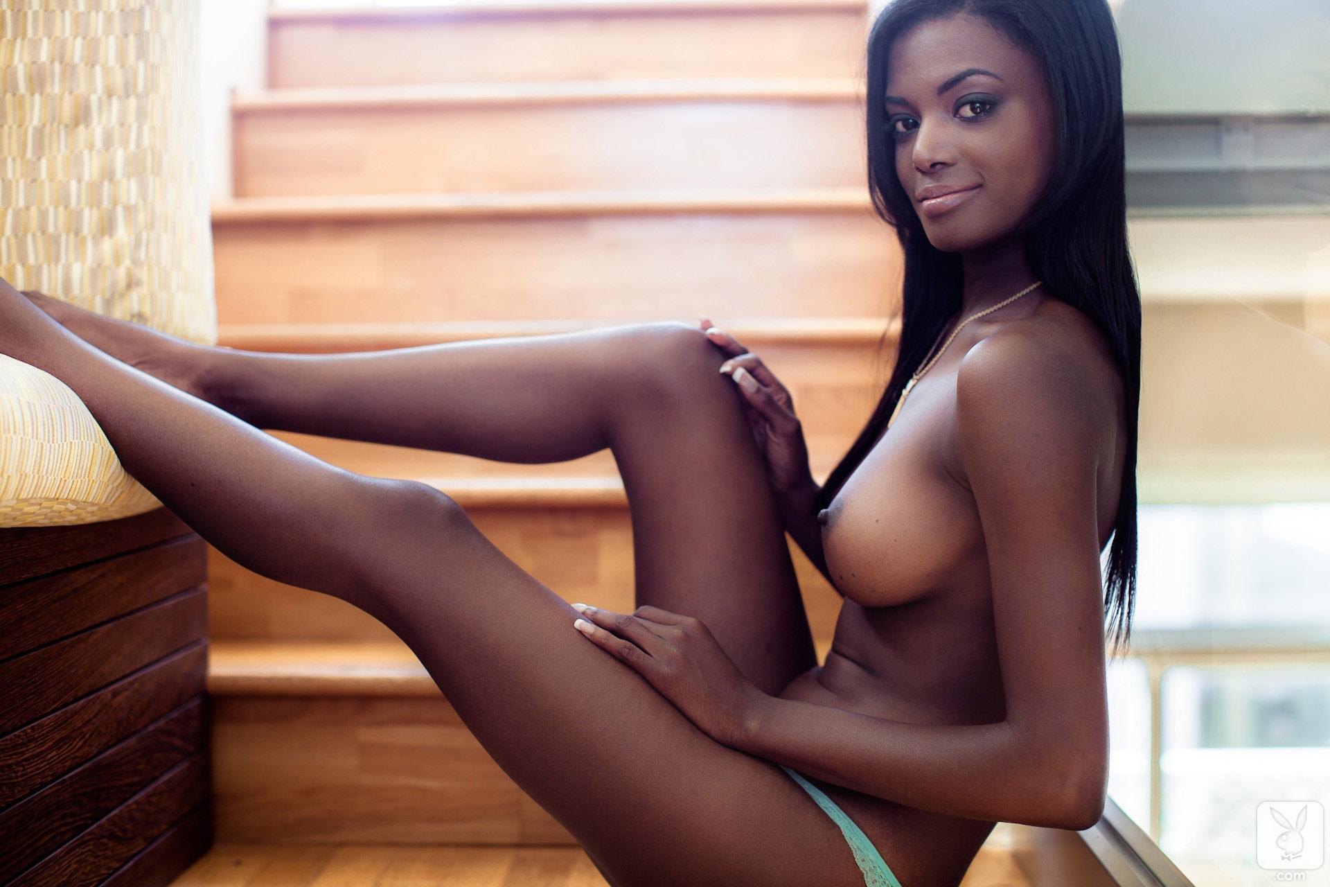 danielle-nicole-naked-ebony-rooftop-honey-bikini-playboy-16