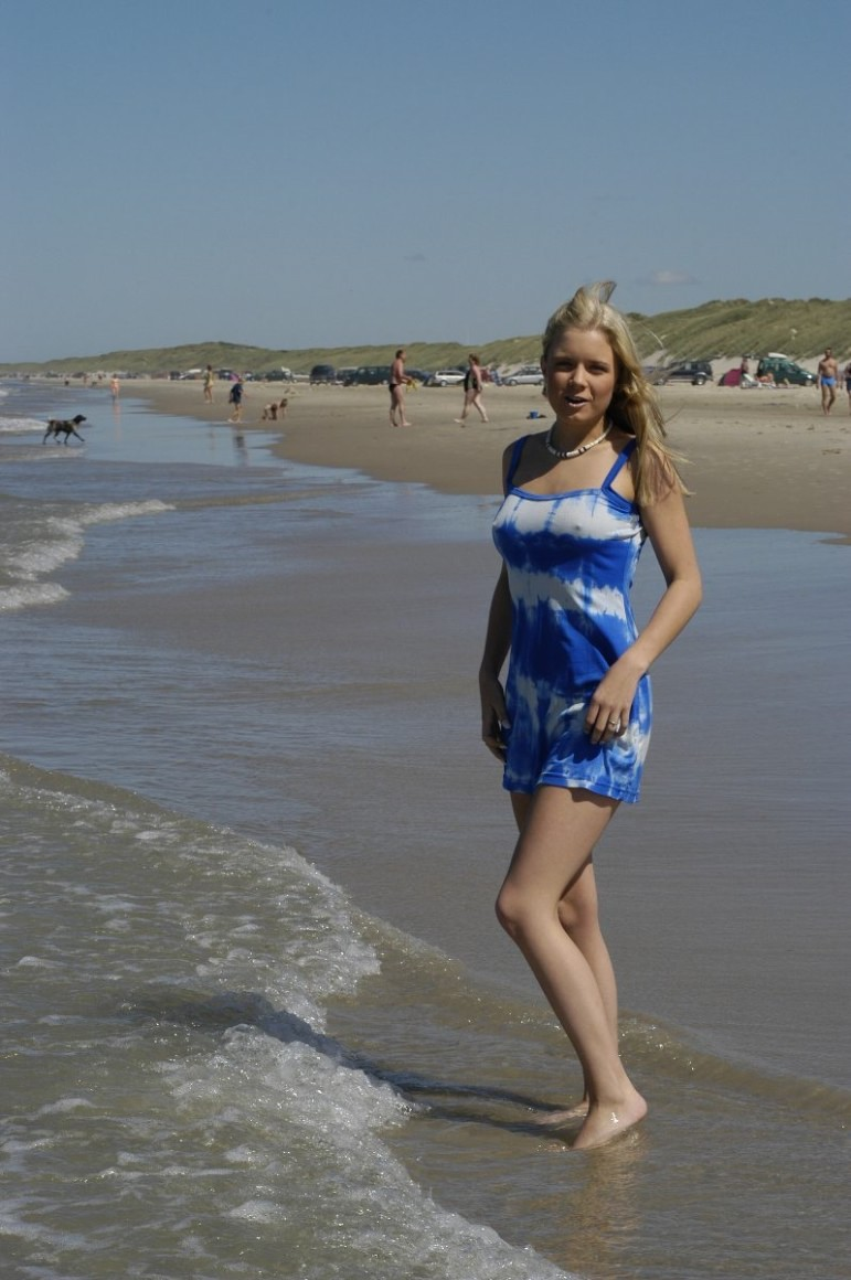from Tyson young daughter nude beach