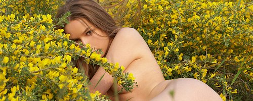 Darina on meadow