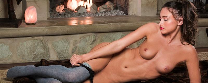 Deanna Greene in knee socks