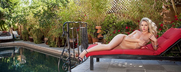 Devin Justine – Poolside patio