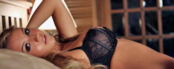 Dionne Daniels – Black lingerie & stockings