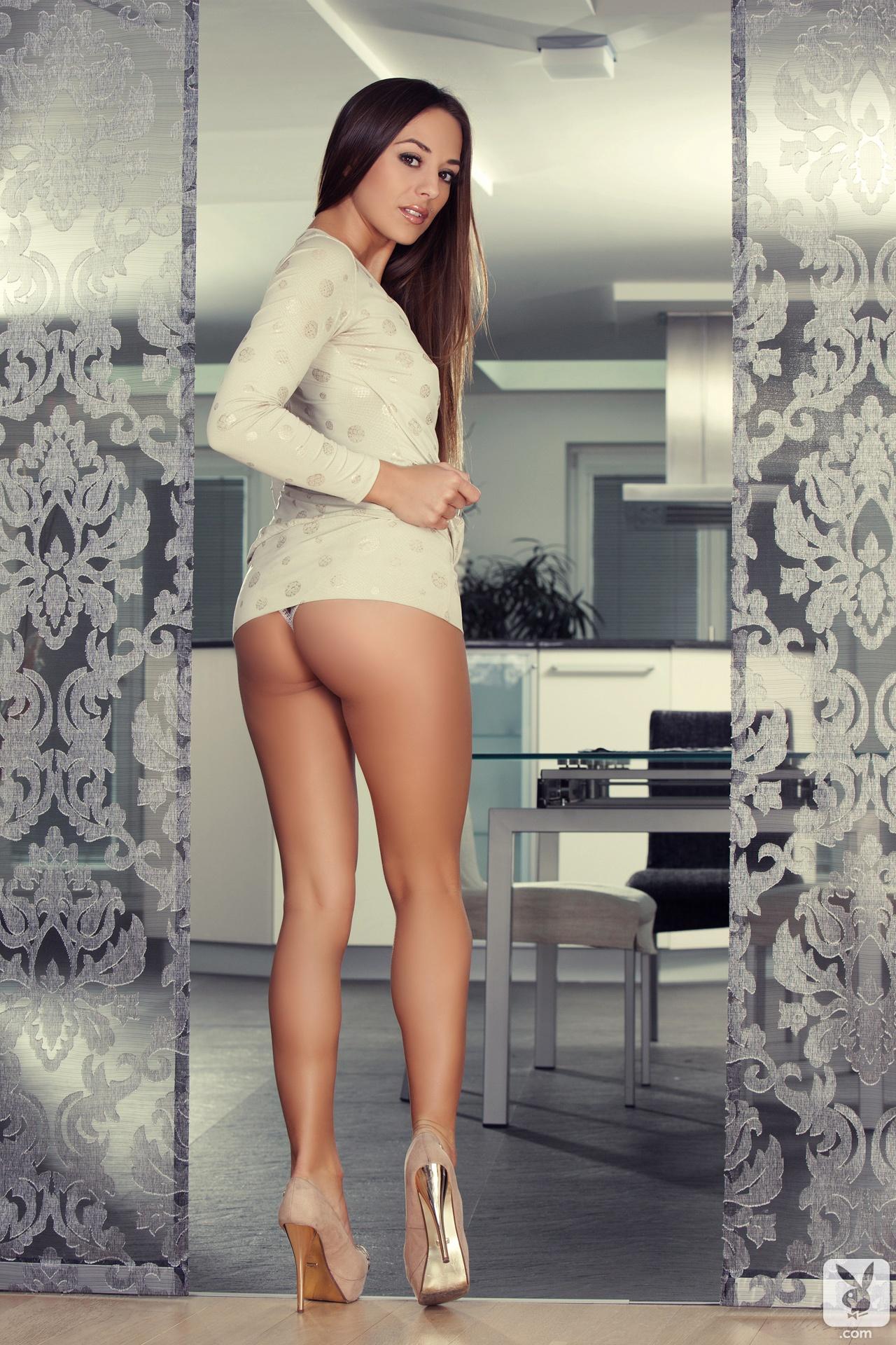 Nude On High Heels