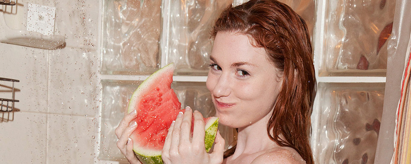 Emily Archer – Crazy about watermelons