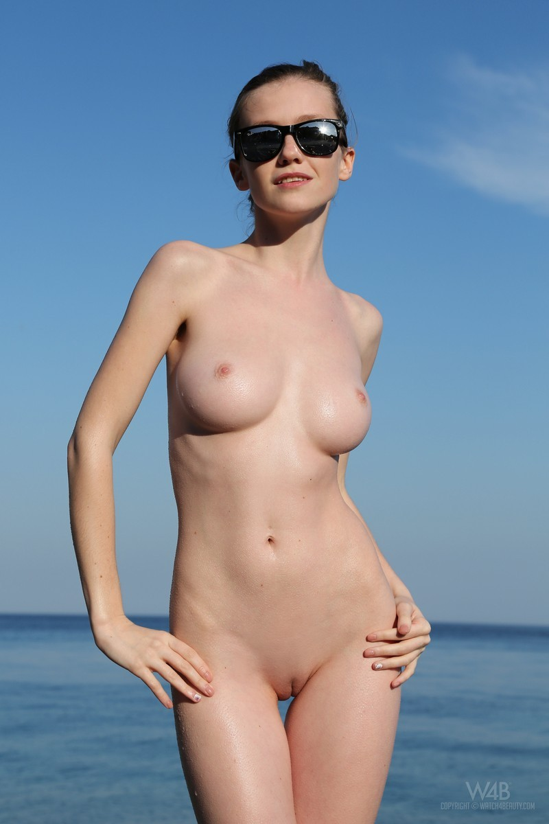 Understood Naked very young beach are