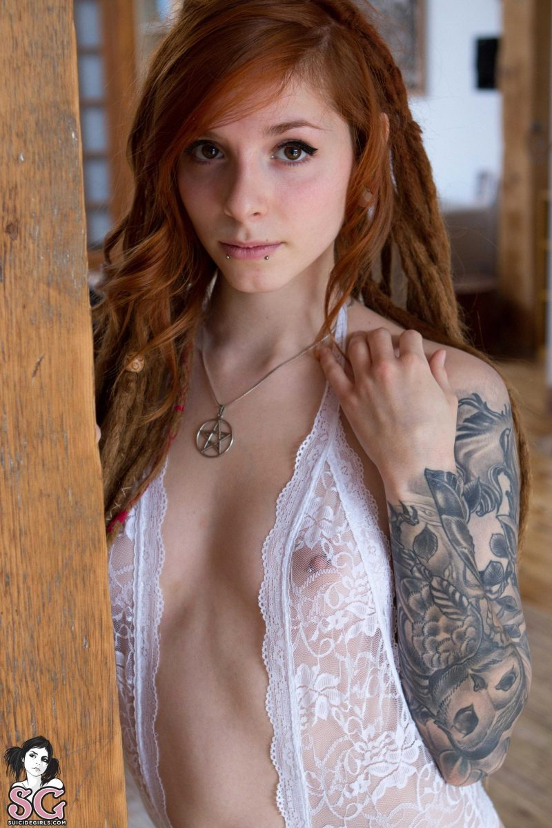 suicide girls redhead naked pics