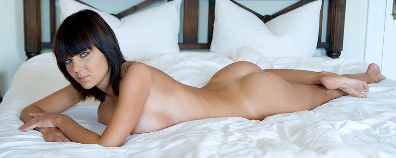 Gabrielle nude in bedroom