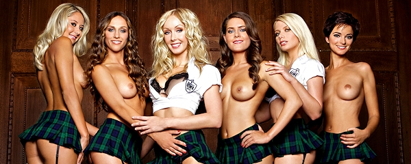 German female students in Playboy