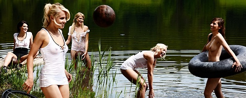 German Soccer Team in Playboy