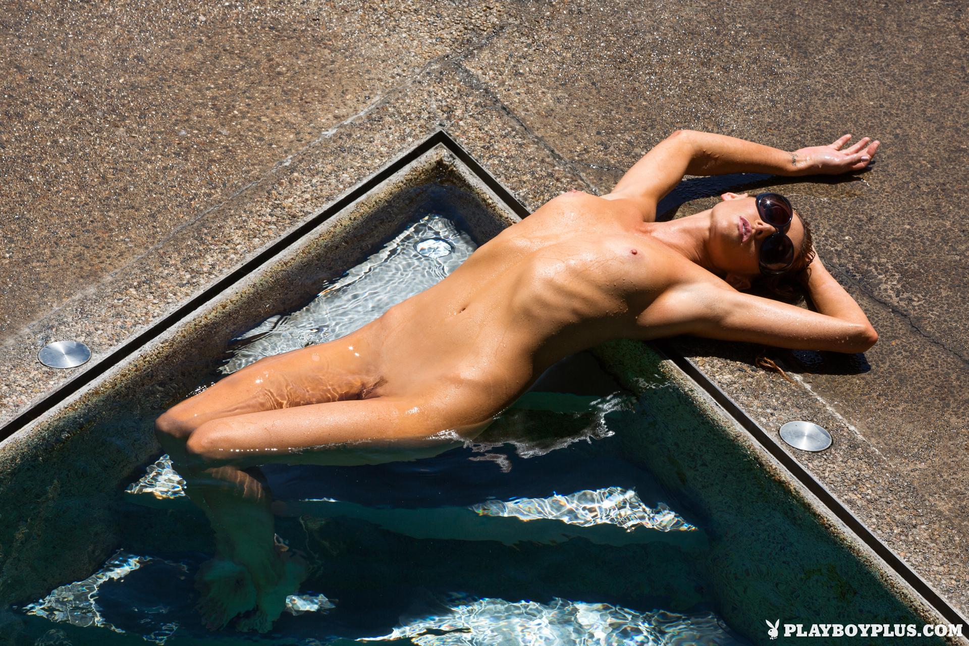 gia-marie-pool-wet-naked-sunglasses-playboy-16
