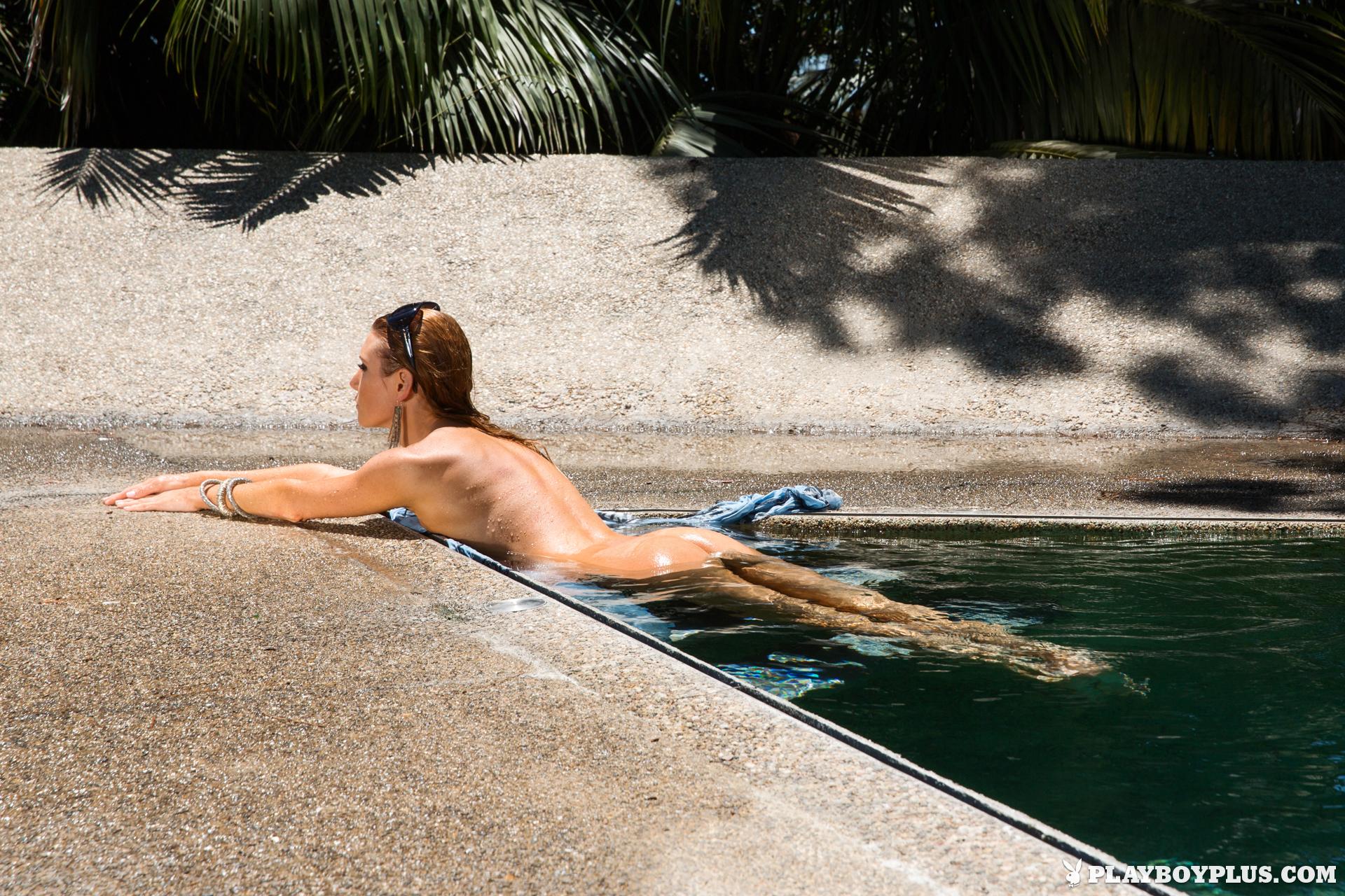 gia-marie-pool-wet-naked-sunglasses-playboy-18